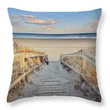 Maine Shore Throw Pillows