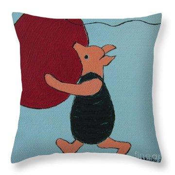 Oh Dear Dear Throw Pillow