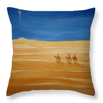 Oh Holy Night Throw Pillow
