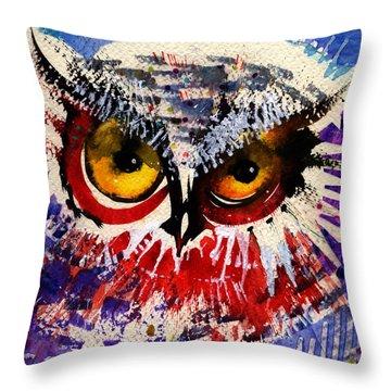 Oh Hush Throw Pillow