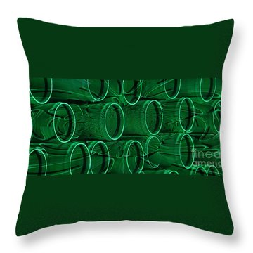 Throw Pillow featuring the photograph Oh by Janice Westerberg