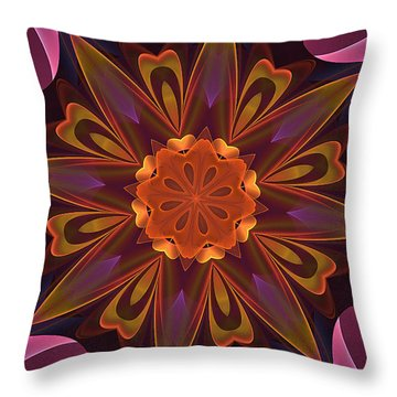 Oh La La Kaleidoscope Throw Pillow