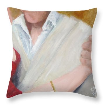 Oh My........ Throw Pillow by Keith Thue