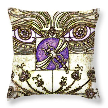 Oh My Sweet Throw Pillow