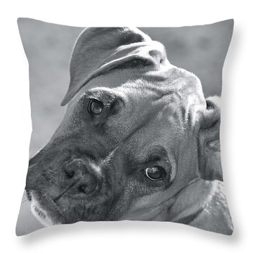 Oh Puppy Throw Pillow