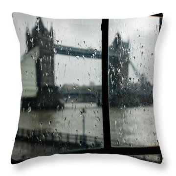 Oh So London Throw Pillow