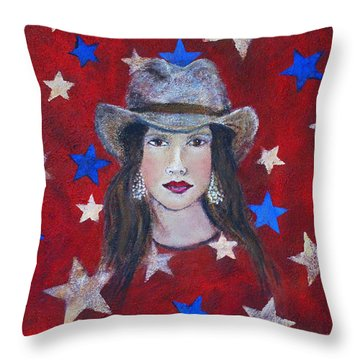 Oh Suzannah Throw Pillow by The Art With A Heart By Charlotte Phillips