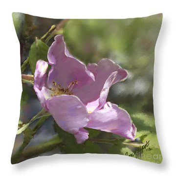 Oh The Scent Of Summer Throw Pillow