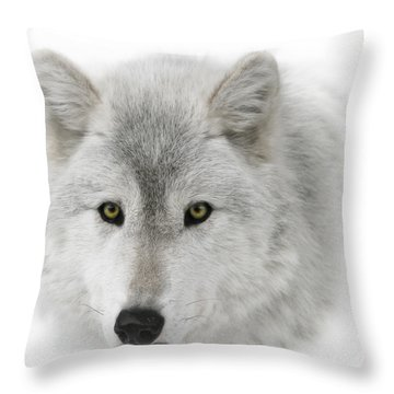 Oh Those Eyes Throw Pillow