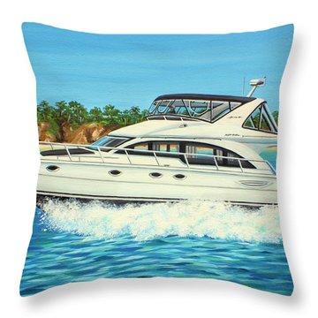 Ohana Pacific Throw Pillow