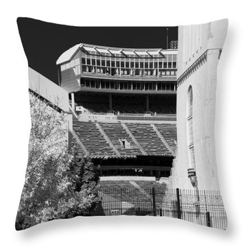 Ohio Stadium 9207 Throw Pillow