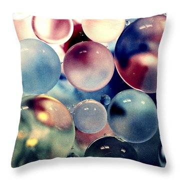 Oil And Water II Throw Pillow