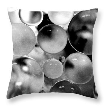 Oil And Water IIi Throw Pillow