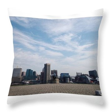 Past Meets Present I Throw Pillow