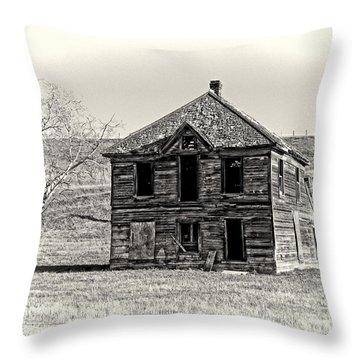 Okanogan Homestead - Washington Throw Pillow by Daniel Hagerman