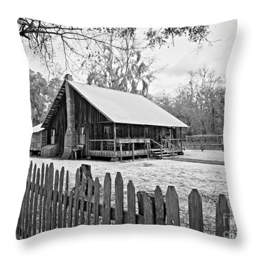 Okefenokee Home Throw Pillow by Southern Photo