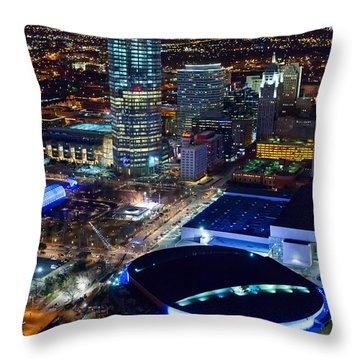 Oks001-6 Throw Pillow by Cooper Ross