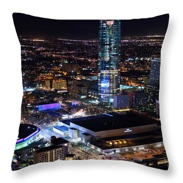 Oks001-8 Throw Pillow by Cooper Ross