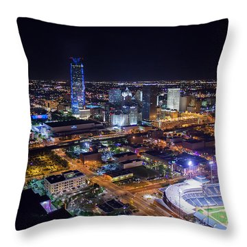 Oks00510 Throw Pillow by Cooper Ross