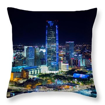Oks0052 Throw Pillow by Cooper Ross