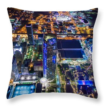 Oks0059 Throw Pillow by Cooper Ross