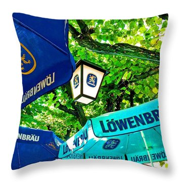 Oktoberfest Throw Pillow by Jean Hall