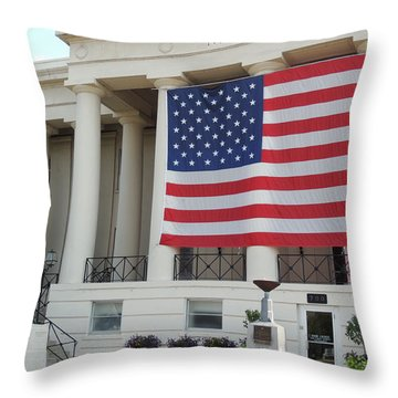 Ol' Glory Throw Pillow