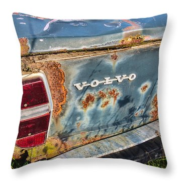 Old Aged Throw Pillow