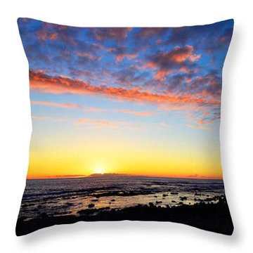 Throw Pillow featuring the photograph Old A's Panorama by David Lawson