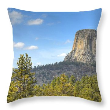 Old As The Hills Throw Pillow