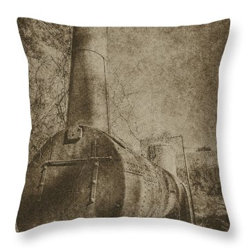 Old Boiler  Throw Pillow