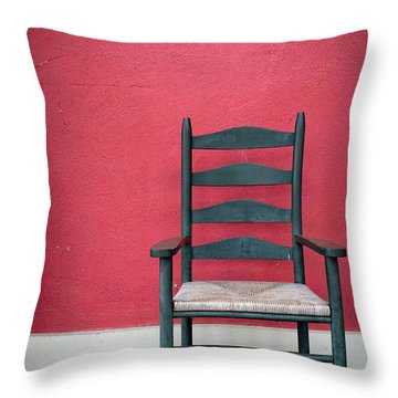 Restful Spot Cornish New Hampshire Throw Pillow by Edward Fielding