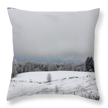 Old Chapman Family Cemetery Throw Pillow