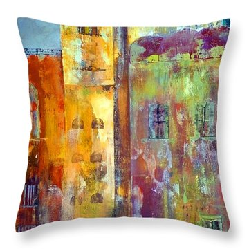 Old City East Throw Pillow