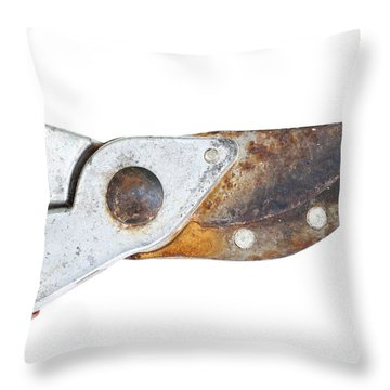 Old Clippers Throw Pillow by Michal Boubin