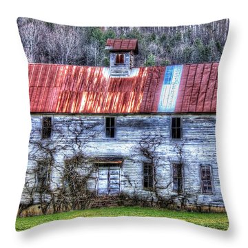Old Country Schoolhouse Throw Pillow