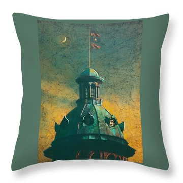 Old Dome Throw Pillow by Blue Sky