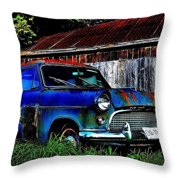 Old Dreams - Perspective 1 Throw Pillow