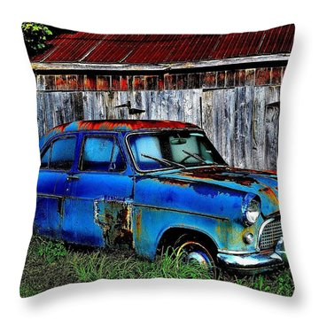 Old Dreams - Perspective 2 Throw Pillow