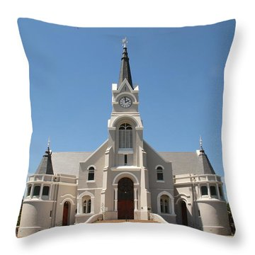 Throw Pillow featuring the photograph Old Faith In The Country by Taschja Hattingh