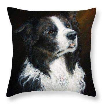 Old Faithful Throw Pillow by Joey Nash