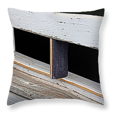 Old Fashioned Air Conditioning Throw Pillow