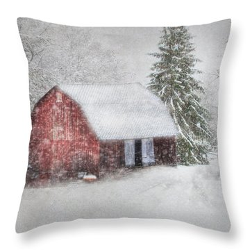 Old Fashioned Christmas Throw Pillow by Lori Deiter