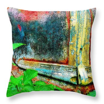 Old Ford #1 Throw Pillow
