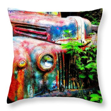 Old Ford #2 Throw Pillow