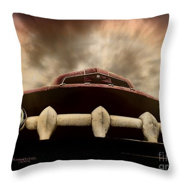Throw Pillow featuring the photograph Old Ford Pickup Truck by Melissa Messick