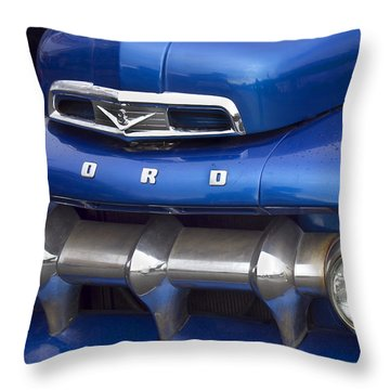 Old Ford Truck Throw Pillow by Elvira Butler