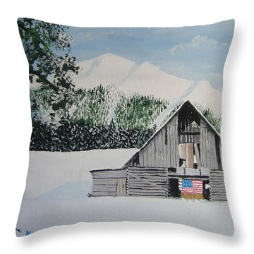 Old Forgotten But Still Proud Throw Pillow by Norm Starks