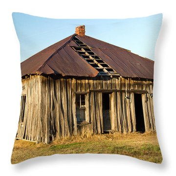 Old House Place Arkansas 2 Throw Pillow by Douglas Barnett