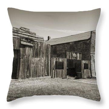 Old Ingalls II Throw Pillow